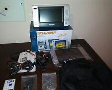 Sylvania 7 inch Dual Widescreen LCD Portable Travel DVD Player | SDVD