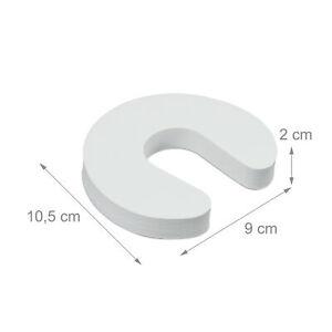 Tür Klemmschutz 10er Set, Einklemmschutz Fingerklemmschutz Türfingerschutz Baby