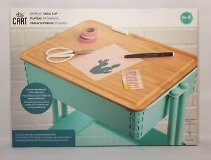 """We R A La Utility Cart Bamboo Table Top Cover Board 11""""x15"""" NEW"""