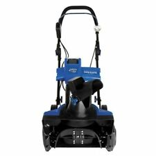Snow Joe ION18SB-PRO 18-Inch 5 Ah Brushless Cordless Single Stage Blower, Blue