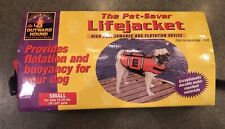NWT Outward Hound Pet-Saver LifeJacket For Dogs Sz Small 15-25 Lbs. NEW