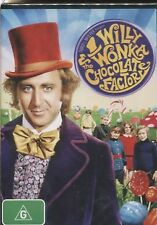 WILLY WONKA & THE CHOCOLATE FACTORY -  Gene Wilder, Jack Albertson, - DVD