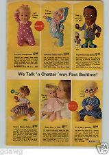 1972 PAPER AD Doll Mattel Talking Flip Wilson Mrs Beasley Cynthia Michelle Ann
