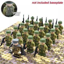 ⭐Lego WW2 21Pcs Bataille De Normandie Armé Americaine usa Us Army Militaire ⭐