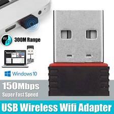 150Mbps Mini USB Wifi Adapter Wireless Dongle Adaptor 802.11 B G N Lan Network