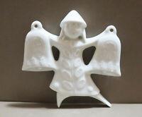 Vintage Haviland Porcelain Christmas Ornament 1973 Dancing Bells. France
