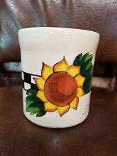 Mary Engelbreit Sunflower Utensil Crock