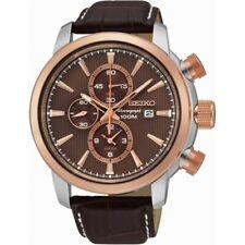 Seiko Snaf52p1 mens cronogragh watch brand new with seiko gift box