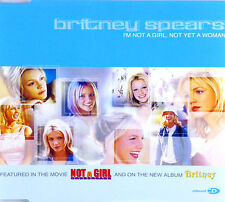 CD Maxi-Britney Spears-I 'm Not a Girl, Not Yet a Woman - #a2328