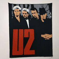 Vintage   U2   Unused  80s BACK PATCH