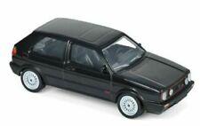 MODELLINO AUTO VW GOLF GTI SERIE 1 i SCALA 1/43 DIECAST NOREV MODELLISMO NERO
