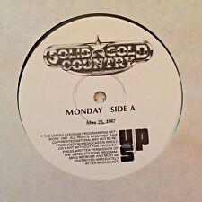RADIO SHOW: SOLID GOLD COUNTRY 5/25/87 LATE GREAT: ELVIS PRESLEY, PATSY CLINE