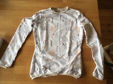 Pullover Damen S Weihnachtspullover weiss NEU Bio Handarbeit