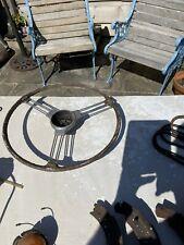 MG Or Morris Steering Wheel