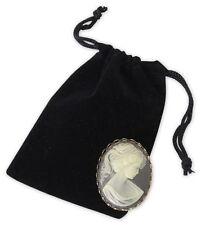"25 Velvet Draw String Pouches Gift Bags Sacks Jewelry Holders - 3 x 4"", Black"