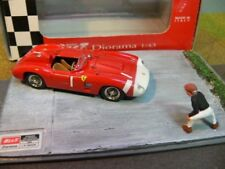 1/43 Best 9607 diorama Ferrari 860 Monza Nurburgring 1965 J.M. FANGIO