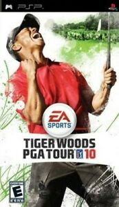 Tiger Woods Pga Tour 10  PSP Game