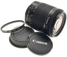 CANON DIGITAL CAMERA LENS ZOOM EF-S 18-55mm 1:3.5-5.6 IS STM  NEW MACRO -BOX UVa