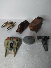 Micro Machines Star Wars Action Fleet Lot 6 Sandcrawler,Federation, & Other'S