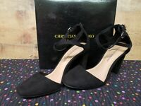 Christian Siriano 179057 KAM Black Women's Heels Shoes Size 8 NWB