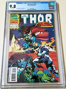 Thor Annual #18 CGC 9.8 1st appearance Female Loki Cameo 1993 POP ONLY 10! 🔥🔥