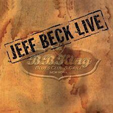 Jeff Beck Live: B.B. King's Blues Club & Grill, New York [CD + Digipak] Sealed