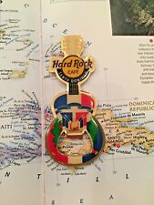 SANTO DOMINGO DOMINICAN R - Hard Rock Cafe - PINCRAFT Opener - HRC Magnet GUITAR