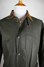 Polo Ralph Lauren Waxed Barn Coat Mens Size Large Green
