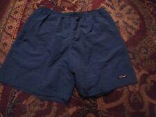 PATAGONIA Men's 100% NYLON Xtra Large BLUE Swim Shorts