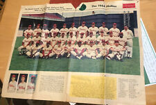 1964 Phillies Team Photo Rotocomic Philadelphia Inquirer Newspaper Oct 4th