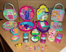 Shopkins & Polly Pocket Cases Houses Lockets Figures