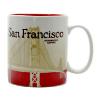 Starbucks San Francisco California Cup Coffee Mug Collector Icon Series 16 Oz