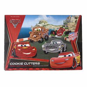Cars 2 Cookie Cutters Williams-Sonoma Disney Pixar Lightning McQueen Set of Four