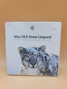 Mac OS X Snow Leopard V10.6 Retail NFR MC202Z/A *FACTORY SEALED * NOT FOR RESALE