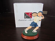 Character Collectibles Game Set Match Young Boy Playing Tennis 25002 New