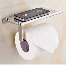 Toilet Roll Tissue Holder Stand Paper Storage Dispensers Wall Mounted Bathroom M