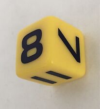 Break the Safe 2003 6 Sided Special Die Replacement Board Game Part Piece Dice