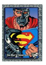 Skybox 1993 The Return of Superman Base Card #4 The Man of Tomorrow!