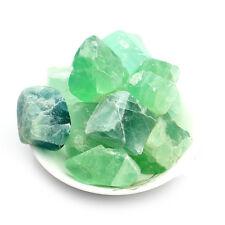 50g Natural Green Fluorite Quartz Crystal Stone Rock Polished Gravel Specimen