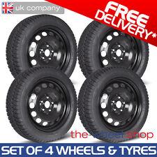 "16"" Mercedes C Class 2007-2014 Steel Wheels & Goodyear Ultragrip Winter Tyres"