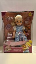Playmates 2002 Disney Princess Little Cinderella Doll & Accessories toy box new