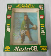 #EE.   SIGNED 1996  LAURIE DALEY  CANBERRA RAIDERS  RUGBY LEAGUE  MASTER CEL