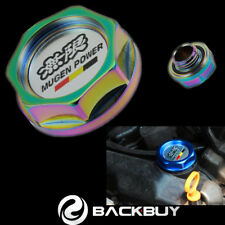 NEO Chrome Racing Oil Filler Cap Engine Tank Cover Mugen for Honda Acura Civic