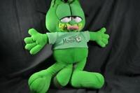 Nanco Garfield Green Cat Plush Toy Cuddly Stuffed Animal Soft Gift Doll Teddy