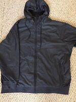 Nike Jacket Windbreaker Black On Black Men's XXL