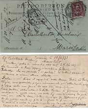 # TREVISO:(PRECURSORE) testatina PIETRO BERTON -RAPPR. CASE NAZ. ED ESTERE-1893