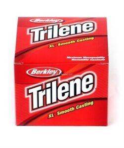 Berkley Trilene XL Smooth Casting Monofilament Line 2lb 3000yd Clear XL302-15