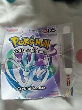 Pokemon Crystal Download Code 3DS Game Nintendo DS