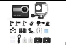 DBPOWER N6 4K touch screen action camera, 2.31 inch LCD touch screen, 20 MP