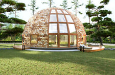 Moon House Strut Framing Kit For 3013 sq.ft Dome Home 45ft Diam. Wood Prefab Diy